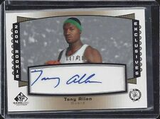TONY ALLEN 2004 SP GAME USED ROOKIE EXCLUSIVES AUTO RC #D /100