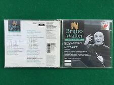 1 CD Musica , BRUNO WALTER - BRUCKNER Te deum MOZART Requiem NEW YORK Philharmon