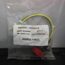 Amphenol Industrial Aerospace Connector Plug CA-100553-000