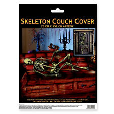 Halloween Party Sofa Couch Settee Skeleton Decoration