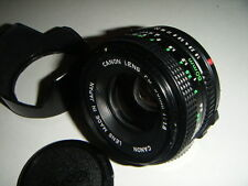 Canon Mount 50mm f1.8 fd focale fissa Inc bw-52b Paraluce