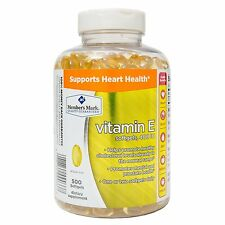 New !  2 X 500 Counts Member's Mark Vitamin E 400 IU Dietary Supplement