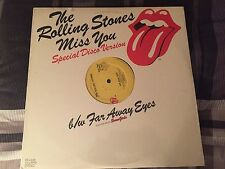 "ROLLING STONES ""Miss You"" SEALED Orig 12"" Disco Funk Version '78"