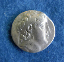 RARE and Scarce Silver Tetradrachm of Demetrios 2nd 145-125 B.C.
