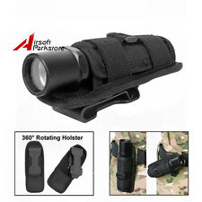 Rotatable Belt Clip Holster for Fenix Olight Streamlight MagLite Flashlight Lamp