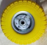 """10""""Replacement Pneumatic Trolley Wheel For Cart Barrow Truck Sack Tyre Tyres New"""