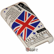 Cover Bandiera Inglese UK Vintage Per Samsung Galaxy S i9001 Plus + Pellicola