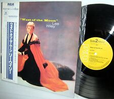 LEE WILEY West Of The Moon JAPAN Pressing RCA RJL-2547 M Mono jazz vocal reissue