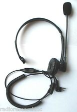 Headset PTT VOX for GP300 PR400 CP200 CP200XLS CP200D CP150 CT450 CT200 EP450