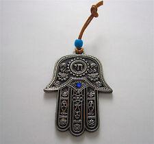 Chai Hamsa Hand Wall Hanging Kabbalah Amulet Home Protection Charm Kabbalah