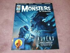 FAMOUS MONSTERS # 286 - ALIENS cover, sticker version