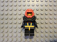 Lego Minifigure Aquashark 1 Aquazone Black Helmet Airtanks
