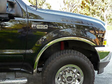 "Ford F-250/F-350 Super Duty 1999-2007 TFP Fender Trim Stainless Steel- 2"" WIDE"