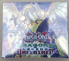 Yu-Gi-Oh! Dragons of Legend Unleashed Booster Box 1ST EDITION- BRAND NEW!!!!