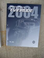 2004 Evinrude Outboard  SR 75 90 HP Service Manual MORE BOAT ITEMS IN STORE U