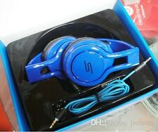 SMS Audio Street by 50 Cent Wired On-Ear Headphones - Blue - new