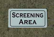 SCREENING AREA Sign 4 dance club Man Cave Stripper Pole Police Cosplay Border