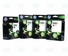 4 Genuine HP 940XL Black/Color Ink Cartridge OfficeJet 8500 8000 A910 A909 A811a