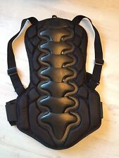 Spine Back Protector Motor Cross Cycle Bike Ice Hockey Adjustable Straps M L