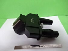 MICROSCOPE PART ORTHOLUX ERNST LEITZ GERMANY HEAD [tight tube] AS IS #AF-E-53