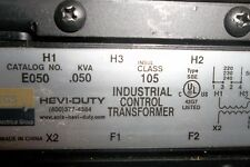 EGS Sola Industrial Control Transformer E050 105 new