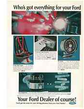 1966 FORD ACCESSORIES  ~  NICE ORIGINAL PRINT AD