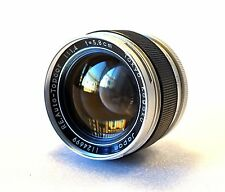 Topcon RE Topcor Camera 58mm 1.4 Lens *Excellent Glass *Superb Portrait Images