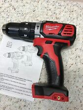 "Milwaukee•2607-20•M18 18Volt•1/2"" Hammer-drill/driver•Tool Only•18 Volt•New!"