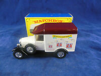Code 2 Matchbox Yesteryear Y47 1929 Morris Cowley Van 12th MICA convention