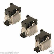 Staple Cartridge Box of 3 Sharp MX-7040N MX-7000N MX-6240N MX-6200N MX-5500N