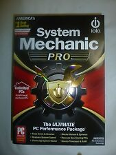iolo System Mechanic Professional Pro Unlimited PCs Household New 1 Year with CD