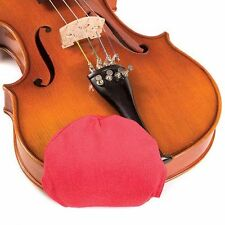 Chin Cozy Medium Red Chinrest Pad: 1/2 - 4/4 Violins