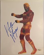 Hulk Hogan Autographed 11x14 Wrestling Photo 7 Tristar Hologram