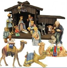 """hummel """"16 piece large nativity set"""" with stable  retail $4,000"""