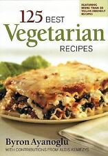 125 Best Vegetarian Recipes-ExLibrary