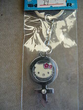 HELLO KITTY IN LOVE SYMBOL KEY RING BRAND NEW