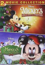 MICKEYS ONCE / TWICE UPON A CHRISTMAS Part 1 2  BRAND NEW AND SEALED UK R2 DVD