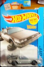 2015 Hot Wheels Back To The future Time Machine Hover Mode Ships World Wide