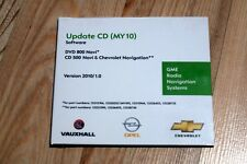 OPEL Navi CD500 DVD800 Betriebssoftware update Operating software MY10 MY09