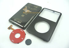 Black Faceplate Housing Back Case Red Clickwheel fr iPod 6th Classic 80GB U2