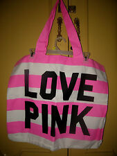 VICTORIAS SECRET -  LOVE PINK TOTE