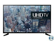 "SAMSUNG 65"" 65KU6000 4K SMART FLAT LED TV WITH 1 YEAR DEALER'S WARRANTY"