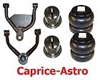 AIRARM-CV9196 1991-1996 Chev IMPALA CAPRICE Upper/Lower Control Arms/Bags/Mount