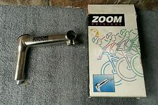 "1994 NOS Zoom Quill Stem 25.4 MTB 1-1/8"" Threaded 135mm TI-Finish"