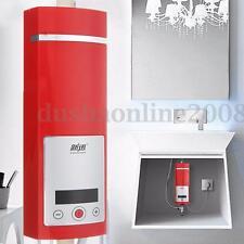 5500W LCD Chauffe-eau Electrique Réchauffeur Instantané Douche Évier Robinet