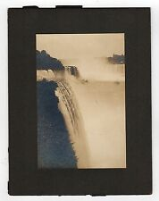 ANTIQUE LJ SHIRA Niagara Falls PHOTOGRAPH Cabinet Photo CANADA Ontario NEW YORK