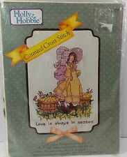 """Holly Hobby Counted Cross Stitch Kit #55208 Love is Always in Season 9"""" x 12"""""""