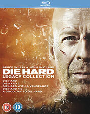 DIE HARD 1 TO 5 LEGACY COLLECTION - BLU-RAY - REGION B UK