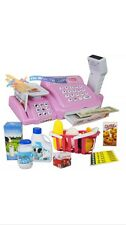 Kids Children Pretend Play Toy Cash Register With Lights & Sounds Shopping Prete