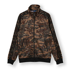 Adidas Originals Firebird Camoflauge Print Track Top Jacket - US Men XL - NWT